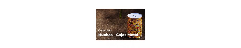 HUCHAS-CAJA METAL